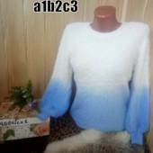 СП выкуп от 1 ед. мягусенькие теплые свитера градиент ангорка акрил