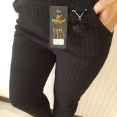Гарні кашемірові брюки на плотному флісі!