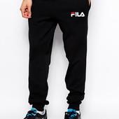 Теплие на флисе мужские спортивне штани трикотаж 3-ох нитка,Fila, Nike,Ribbok 46-54 Якість!!