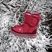 Сапоги зима! Стильный дизайн, тёплые удобные. Производство Украины!