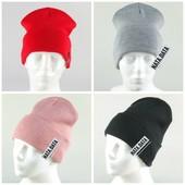 Базова шапочка з підворотом, можна з хомутом комплектом, реальні фото!! Багато кольорів, є відгуки