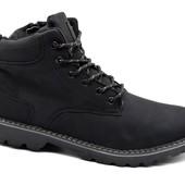 Ботинки мужские стильные из нубука (A-8781)