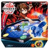 Бакуган Bakugan игровой набор с ареной и фигуркой-трансформером.