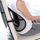 Ортопедическая спинка - подушка с массажером