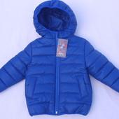 Стеганные курточки для мальчиков. .Размеры от 98 до 128