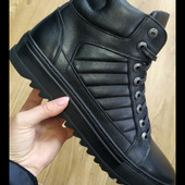 Зимние кожаные ботинки Vaslav р. 40, 42, 44, 45, 46