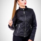 Демисезонная куртка женская (р.42-52). Украина. Отправка от 1 единицы. Есть обмен и возврат
