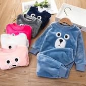 Мягкие и тёплые пижамки и халаты для девочек и мальчиков № 39