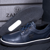 Мужские кожаные Туфли ZG из натуральной кожи