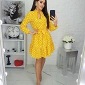 Платье легкое и красивое.