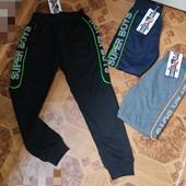 Новий збір.Спортивные брюки для мальчиков 98-164 рр