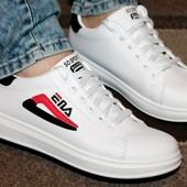 Очень модные кроссовки в стиле Fila 37, 38, 39 р. Маломерят.