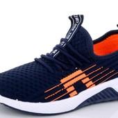Крутые, модные кроссовки 31-36 р. Цвет темно-синий
