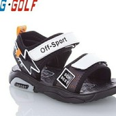 Босоножки для мальчиков Jong Golf 27-31 давайте соберём