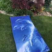Пляжные полотенца, полотенца- пончо
