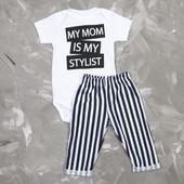 """Летний комплект """"Мама стилист"""""""