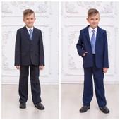 Школьный костюм, комплект для мальчиков, можно по отдельности брюки и пиджак