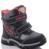 Спешим!! Выкуплены!! Зимние термо-ботинки на мальчика 34-38 р