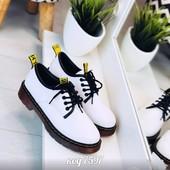 стильные туфли демисезон 4 цвета (черный, белый, желтый и вишневый)