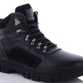 Мужские зимние ботинки натуральная кожа 40-45