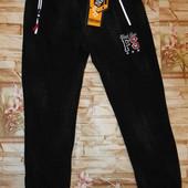 Новинка! Шикарные утепленные джоггеры на меху 8-16 р. Цвет черный и темно-синий