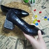 Черные Туфли новый сбор и наличие