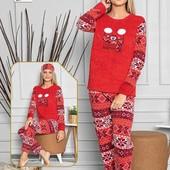 Теплые флисовые пижамки