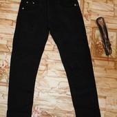 Утепленные котоновые брюки на флисе на девочек 134-164 р