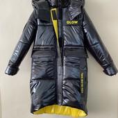 Подростковое зимнее пальто. В размерах 152-164. Новый сбор.