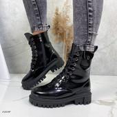 Новая зима ,очень крутые кожаные ботиночки