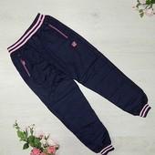 Болоневые спортивные штаны для девочек F&D 8-16 лет(8717)