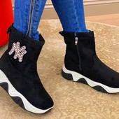 ✨Мега новинка!!! Супер модные сапоги-2020года.
