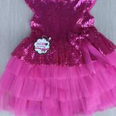 Платье для девочек 1-3 года