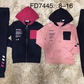 Спортивный костюм-двойка для девочек F&D, 8-16 лет, FD7445