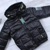 Выкуп 2.03 черная. Куртки для мальчиков. Осень-весна. Размеры 122-152см