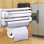Кухонный диспенсер для пленки, фольги и полотенец