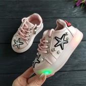 Супер стильные кроссовочки для маленьких модниц 21-26