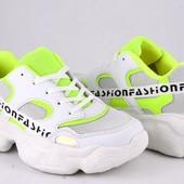 Шикарные женские кроссовки Violeta 36-41 р