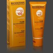Солнцезащитный крем-флюид Bioderma Photoderm Max Spf 100