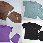 Костюмы футболка+шорты, футболка+брюки