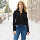 Новинка!!!женская короткая весенняя куртка esmara® под замшу.качество!германия!
