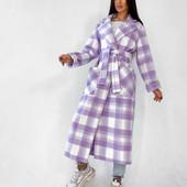 Очень классное пальто на подкладе размер 44-46
