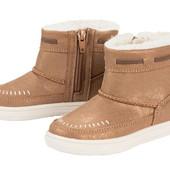 Акция 3дня 25-26-27-28-29-30 ботиночки на молнии Lupilu Рepperts Германия стильная модель