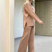 Стильные штаны палаццо и костюмы разные модели Турция