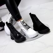 Обувь женская . Кожа натуральная и замш.