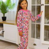 Теплые пижамы для мальчиков и девочек!